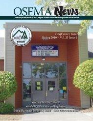 Spring 2010 Vol 23 Issue 4 - OSFMA