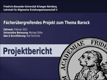 4. Umsetzung Stationenlernen - Lehrstuhl für Allgemeine ...