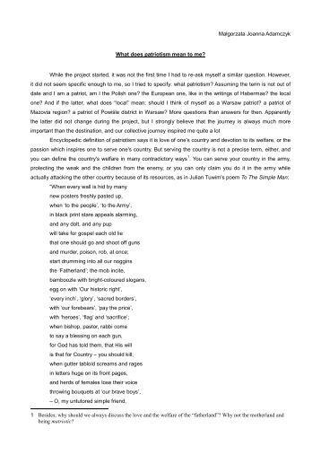 Identity essays