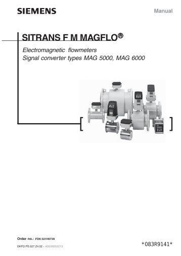 sitrans f m magflo?quality=85 sitrans f m mag 5000 6000 rs hydro siemens mag 5000 wiring diagram at virtualis.co