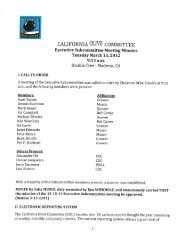 Executive Subcommittee Meeting Minutes 3-13-12