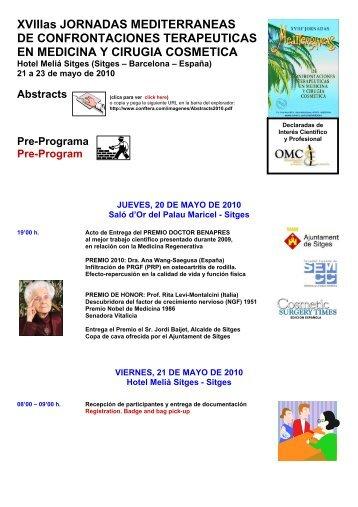 XVIIIas JORNADAS MEDITERRANEAS DE CONFRONTACIONES ...