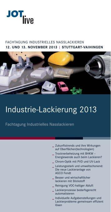 Industrie-Lackierung 2013 - ATZlive