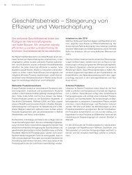 Geschäftsbetrieb – Steigerung von Effizienz und Wertschöpfung.