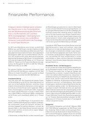 Finanzielle Performance. - Nobel Biocare Annual Report 2010