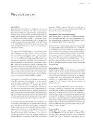 Finanzbericht. - Nobel Biocare Annual Report 2010