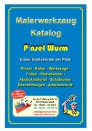 WG 6 - Pinsel Wurm