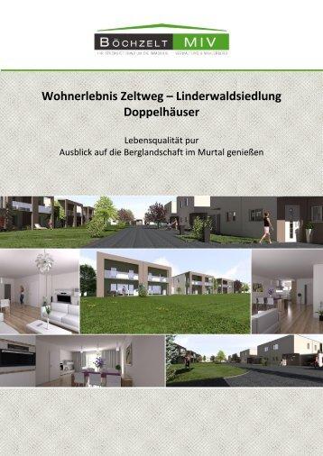Wohnerlebnis Zeltweg – Linderwaldsiedlung Doppelhäuser