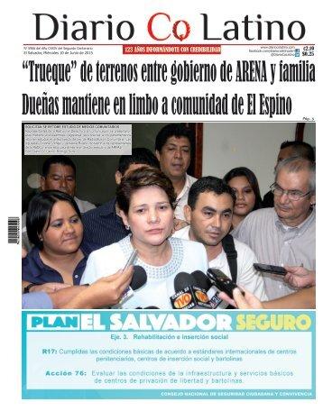 Edición 10 de Junio de 2015