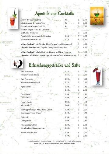 Alkoholfreie Getränke - Jimdo