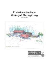 Pressetext Daten Baustelle Stand 23. Juni 2013 - Weingut Georgiberg