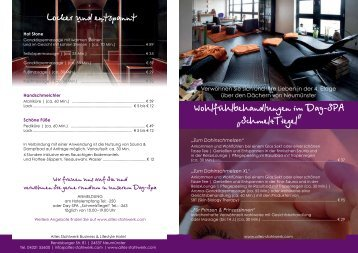 WellnessFlyer2013 - Altes Stahlwerk