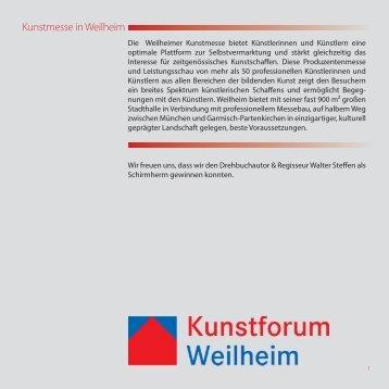 Kunstmesse in Weilheim
