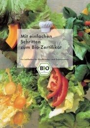 Mit einfachen Schritten zum Bio-Zertifikat