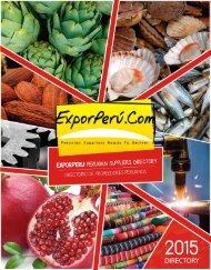 ExporPerú - Peruvian Suppliers Directory 2015