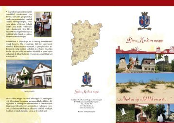 Bács-Kiskun megye rövid bemutatása