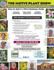 THE NATIVE PLANT SHOW - Okeechobee County Extension Service
