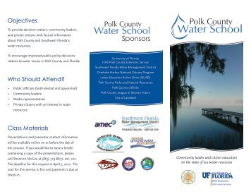 to see our brochure - Polk County Extension Office - University of ...