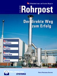 Pipelines & Installations International  - PPS Pipeline Systems GmbH