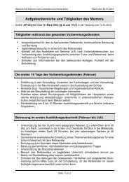 Aufgaben der Mentoren - SEMINAR-HEIDELBERG-GYM - Startseite