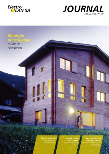 Minergie et l'éclairage - Winterhalter Fenner AG