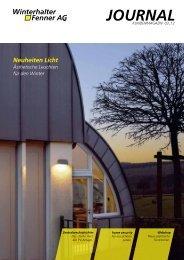 3. Ausgabe 2012 - Neuheiten Licht - Winterhalter + Fenner AG