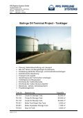 BUTINGE OIL TERMINAL PROJECT - PPS Pipeline Systems GmbH - Page 2