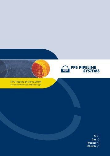 Öl Gas Wasser Chemie - PPS Pipeline Systems GmbH