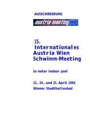ausschreibung austria meeting 2004 deutsch v1.0 - TWV-Telfs