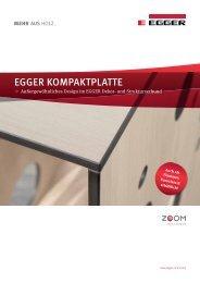 EGGER KOmpaKTplaTTE - Shop