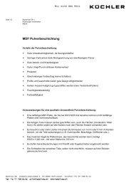 Pulverbeschichtung/Powdercoating - Wichtige Hinweise