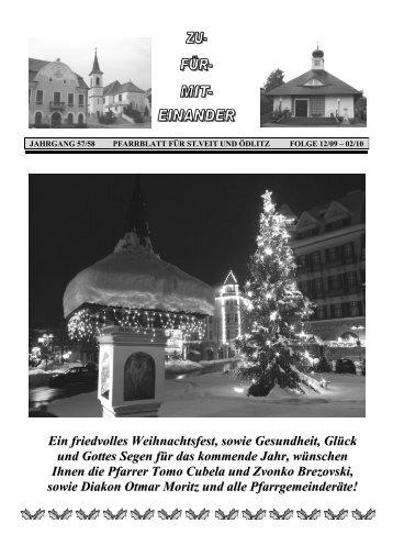 Dezember 2009 - Februar 2010 - Pfarre Berndorf-St. Veit