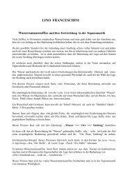 Wassernamenssuffixe und ihre Entwicklung in der ... - franceschini.de