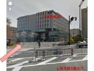 地下鉄名古屋大学駅から理学部D館までの案内図