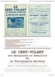 Revue Cerf-Volant - N°14 - septembre 1910