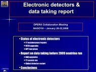 Status of the Electronic Detectors