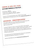 Samstag 20. April 2013 19.30h Alte Dorfturnhalle ... - kulturPRATTELN - Seite 2