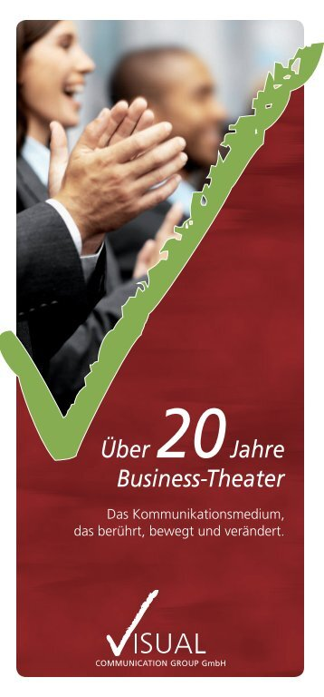 20Jahre Business-Theater - Visual Communication