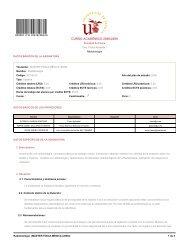 CURSO ACADÉMICO 2008/2009 - Universidad de Sevilla