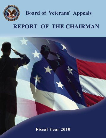 2010 - Board of Veterans' Appeals