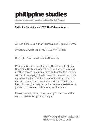 philippine studies for motivation
