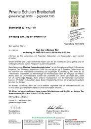 EB 07.11-12 Tag der offenen Tür - Wirtschaftsschule Breitschaft