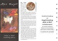 Chagall-Ausstellung - Kirchen in und um Kaiserslautern