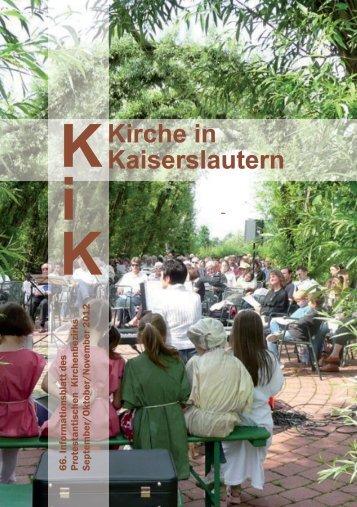 Kirche in Kaiserslautern K - Kirchen in und um Kaiserslautern