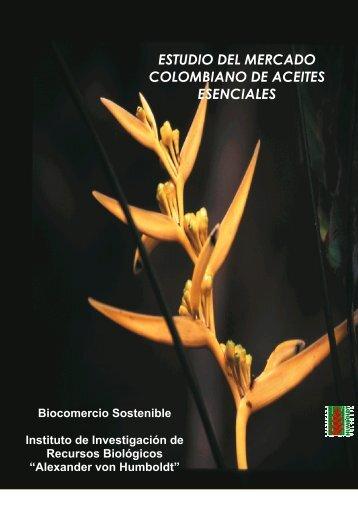 ESTUDIO DEL MERCADO COLOMBIANO DE ACEITES ESENCIALES