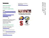 Registration Participating Universities - PacWest