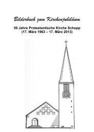 Bilderbuch zum Kirchenjubiläum