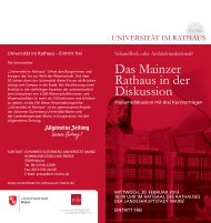 1504 KB - Universität im Rathaus - Johannes Gutenberg-Universität ...