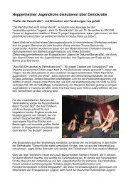 20091118 Junge Heppenheimer diskutieren über Demokratie