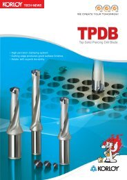 Top Solid Piercing Drill Blade - Tiger-Tools Kft.